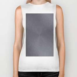 Cool Brushed Metal with a Stamped Design Biker Tank