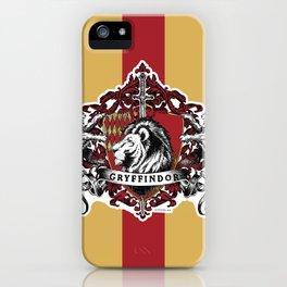Gryffindor Color iPhone Case