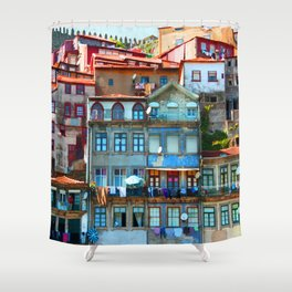 Houses Shower Curtain