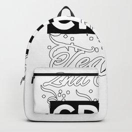2nd Grade Crew - Great Teachers Gift - White Lettering & Logo Design Backpack
