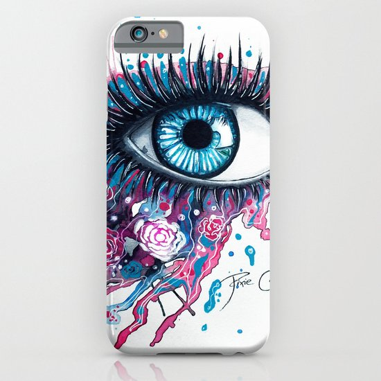 """Midnight Rose"" iPhone & iPod Case"