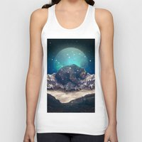 jazzberry Tank Tops featuring Under the Stars (Ursa Major) by soaring anchor designs