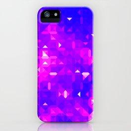 Mosaic Tile Pattern iPhone Case