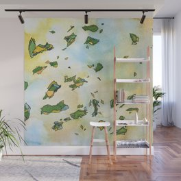 When Summer Turns To Fall Wall Mural