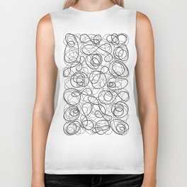 Time is elastic Biker Tank
