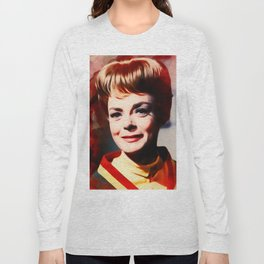 June Lockhart, Vintage Actress Long Sleeve T-shirt