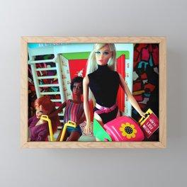 Ana at the gym, 1969 Framed Mini Art Print