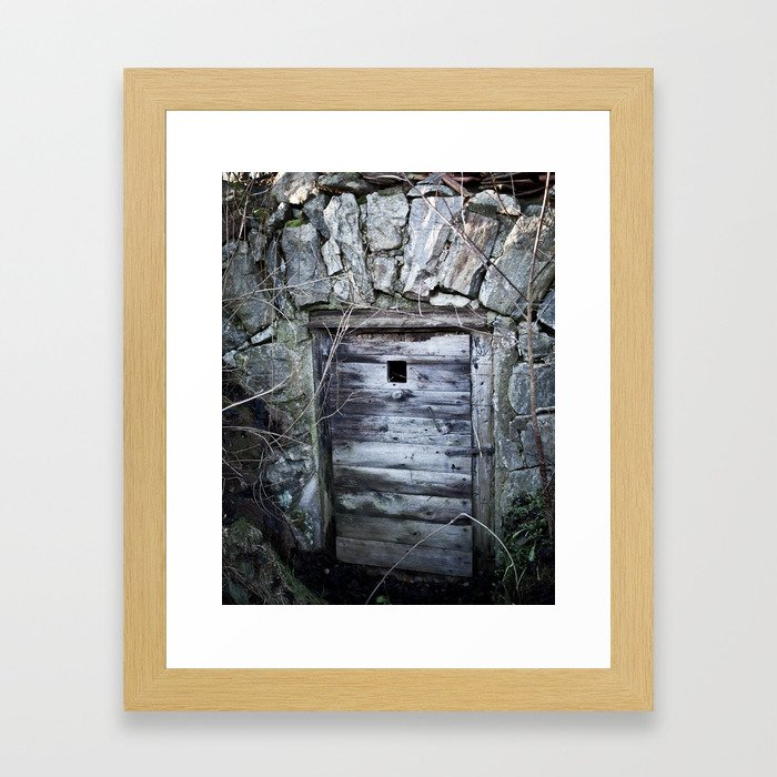 Cellar Door Framed Art Print