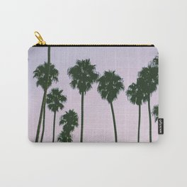 Palm Trees Sunset Carry-All Pouch