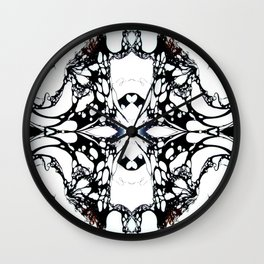 Carbon Essence Collider 12 Wall Clock