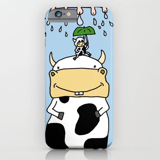 Cow story iPhone & iPod Case
