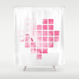 I heart ice cream Shower Curtain