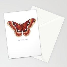 Tuliptree Silkmoth (Callosamia angulifera) Stationery Cards
