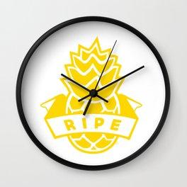 Ripe Wall Clock