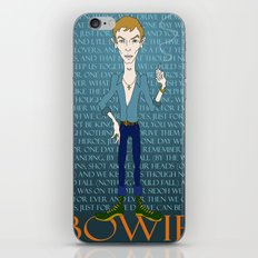 Bowie Heroes iPhone & iPod Skin