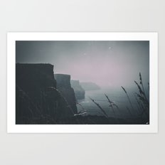 Sea stories Art Print