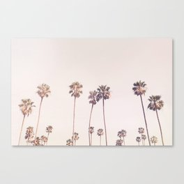 Sunny Cali Palm Trees Canvas Print