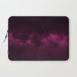 Fascinating view of the pink cosmic sky Laptop Sleeve