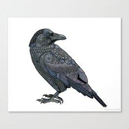 Celtic Raven Leinwanddruck
