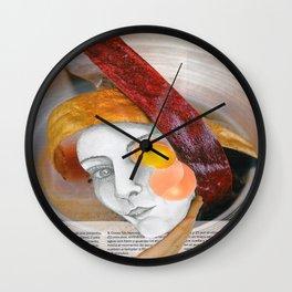 HUEVO GEHRY Wall Clock