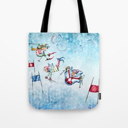 Hideout in the mountains Tote Bag