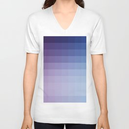 Lumen, Blue and Purple Glow Unisex V-Neck