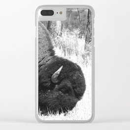 A Wild Guy Clear iPhone Case