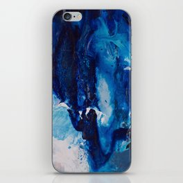 Beautiful Accidents (Blue Waterfall) iPhone Skin