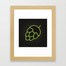 Me So Hoppy Framed Art Print