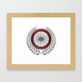 Ride On Shield  Framed Art Print