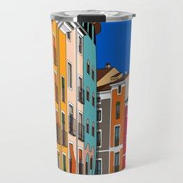 Casas de colores Cuenca. Travel Mug