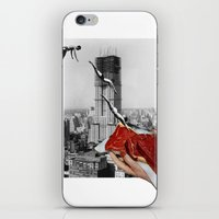 metropolis iPhone & iPod Skins featuring Metropolis by Lerson
