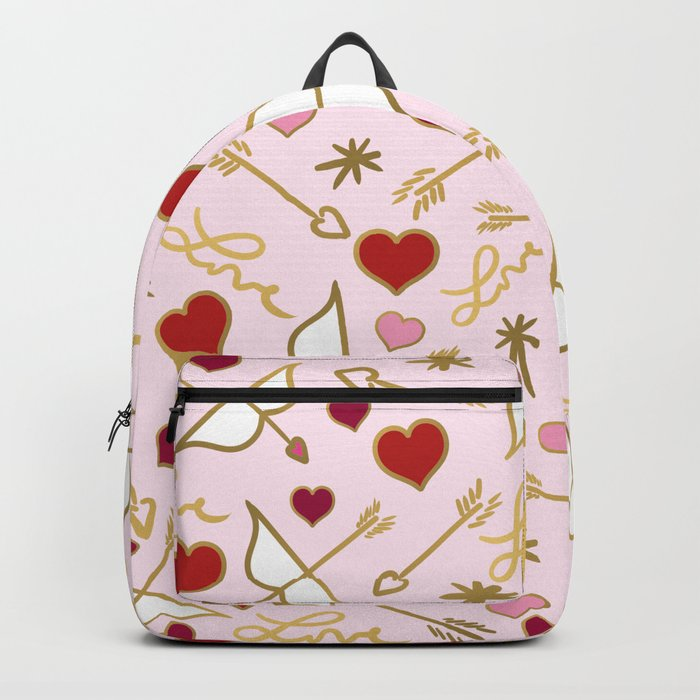 Cupid Love (soft pink) Backpack
