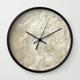 Wispy Wall Clock