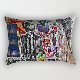 Spaceman Business Time Rectangular Pillow