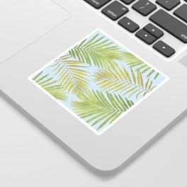 Palms Against the Sky Sticker