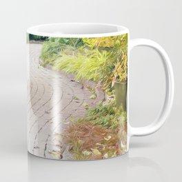 Winding Path of Swaying Trees Coffee Mug