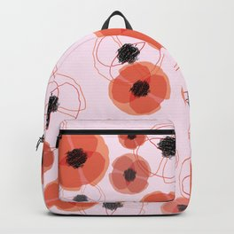 Poppy Blue Pattern MT Backpack