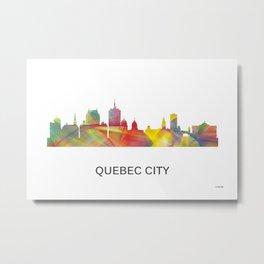 Quebec City, Quebec Canada skyline WB1 Metal Print