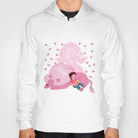 steven universe Hoodies featuring Steven Universe by Vivian Lindemberg Arcila
