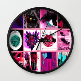 MAC-Aholic Wall Clock