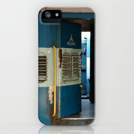 India railway print iPhone Case