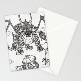 Time to fight Stationery Cards