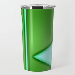 Green lights Travel Mug