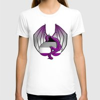 asexual T-shirts featuring Asexual Wyvern by (i)Rene