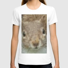 The other faces of Squirrel 4 T-shirt