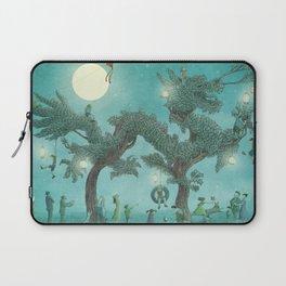The Night Gardener - Dragon Tree night option  Laptop Sleeve