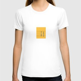 Woman and Man in Utah T-shirt