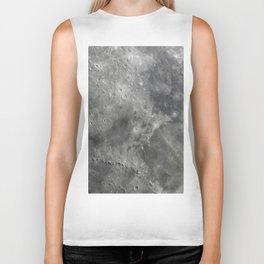 craters on the moon Biker Tank