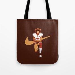 Colin Kaepernick - Kaep Doing It Tote Bag